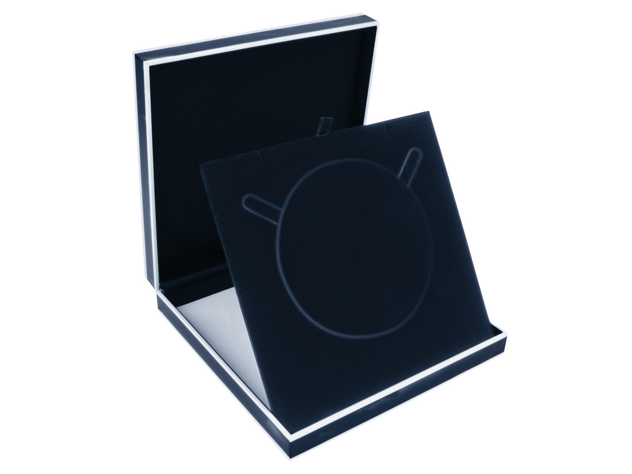 Black Monochrome Collarette Box