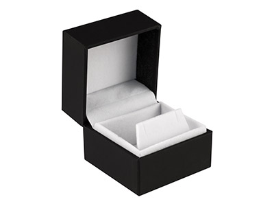 Black-Soft-Touch-Earring-Box