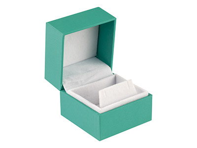 Green Soft Touch Earring Box