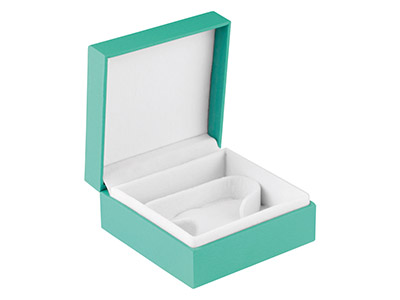 Green Soft Touch Watchbangle Box