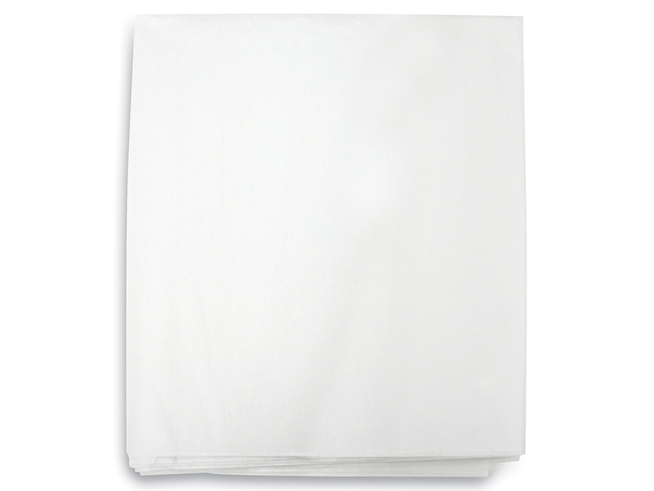Acid Free Tissue Paper Un-glazed   Crisp White Small 22x34cm 500      Sheets
