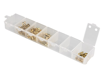 Mini Bead Storage Box With 7 Flip  Top Containers