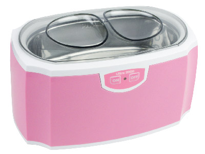 Ultra 2000 Pink Ultrasonic        Cleaner 450ml Tank
