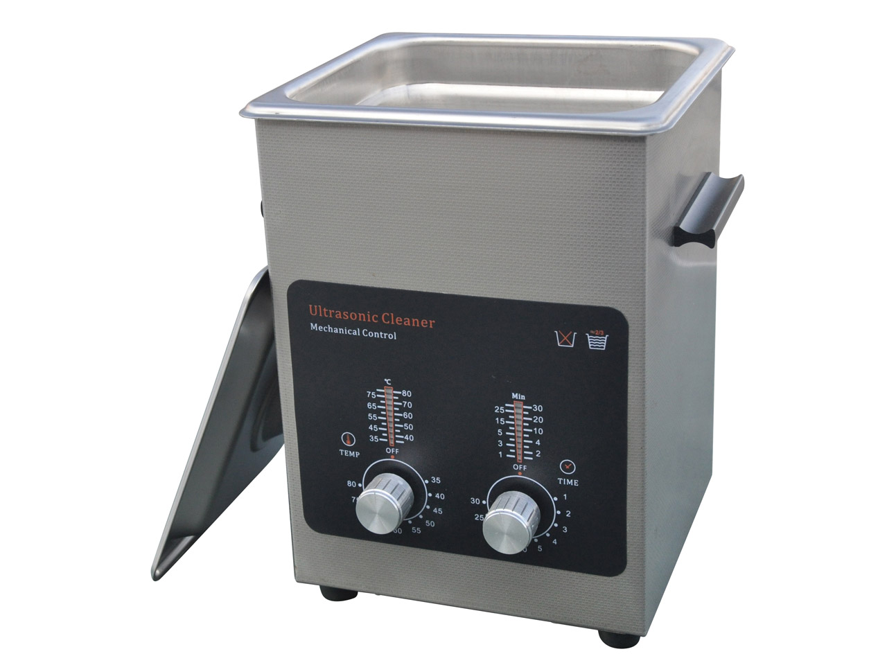 Economy Ultrasonic 2 Litre With    Basket And Heater