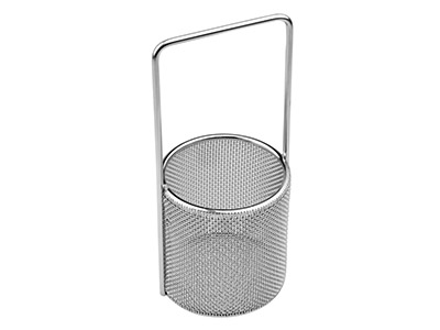 Round Stainless Steel Immersion    Mesh Basket