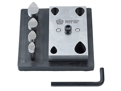 Swanstrom Special Tear Drop Disc   Cutter Set