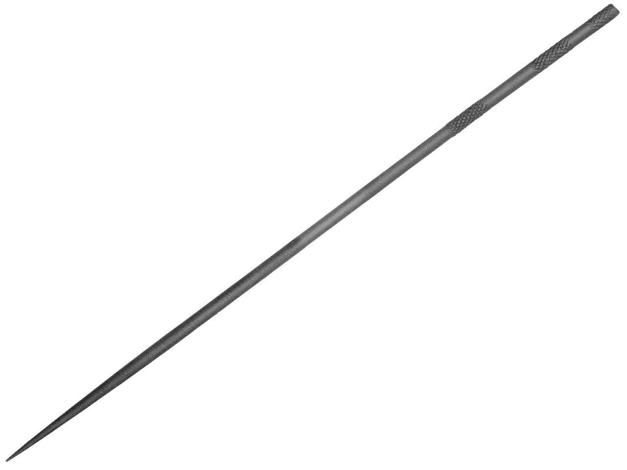 Cooksongold 16cm Needle File Round, Cut 0