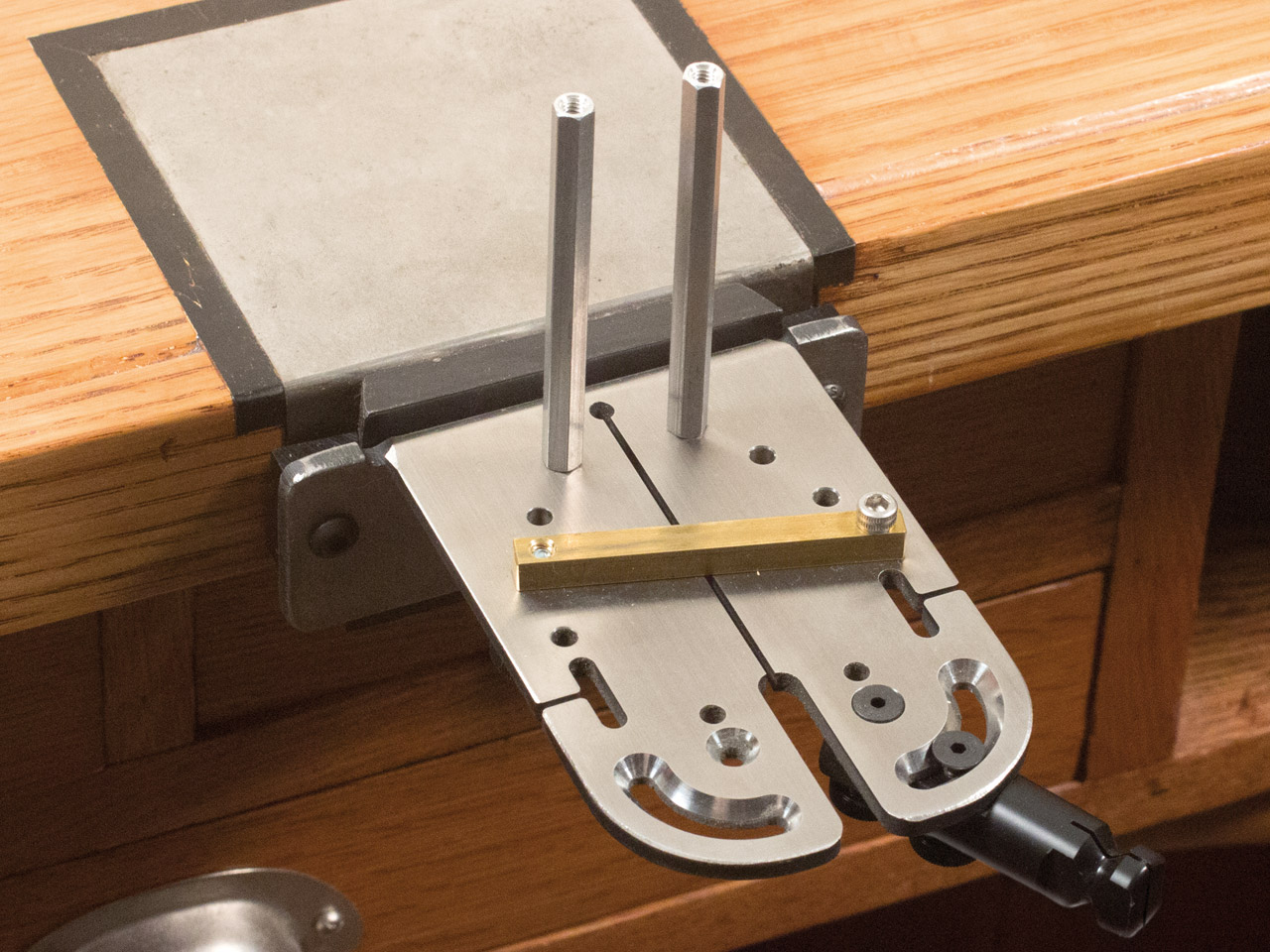 Include Dovetail Plates and More Knew Concepts Workbench Clamp Tools