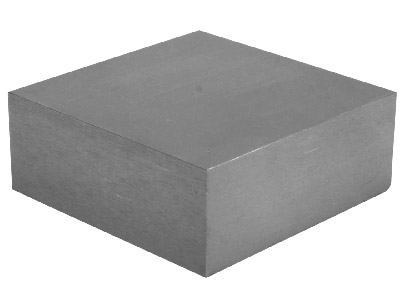 Small Deluxe Steel Bench Block 5.7 X 5.7 X 2.5cm