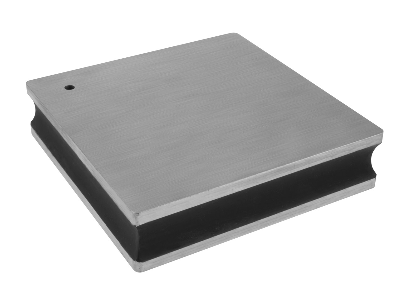 Large Deluxe Steel Bench Block 10.2 X 10.2 X 2.5cm