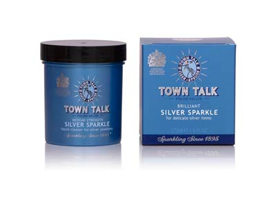 Town Talk Silver Sparkle Dip 225ml