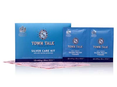 Town Talk Silver Care Kit Trade    Pack of 30 12.5x17.5cm 5x7