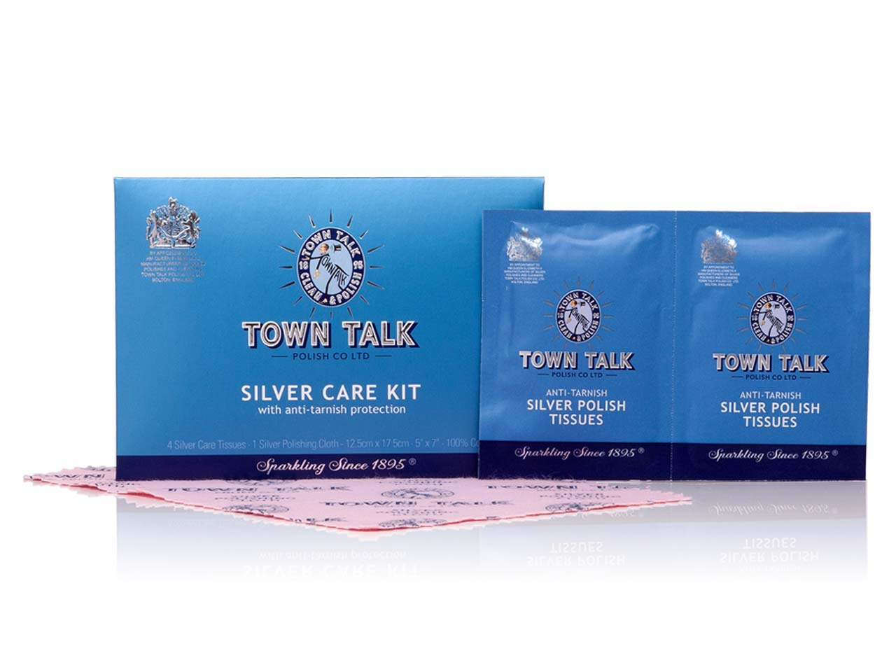 Town Talk Silver Care Kit Trade    Pack of 30 12.5x17.5cm 5