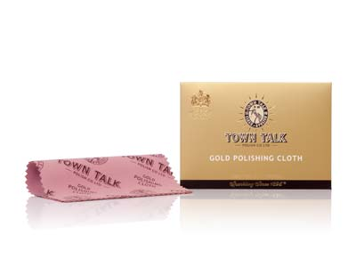 Town Talk Gold Cloth Small 12.5cm X 17.5cm