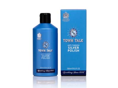 Town Talk Silver Antitarnish      Polish 250ml