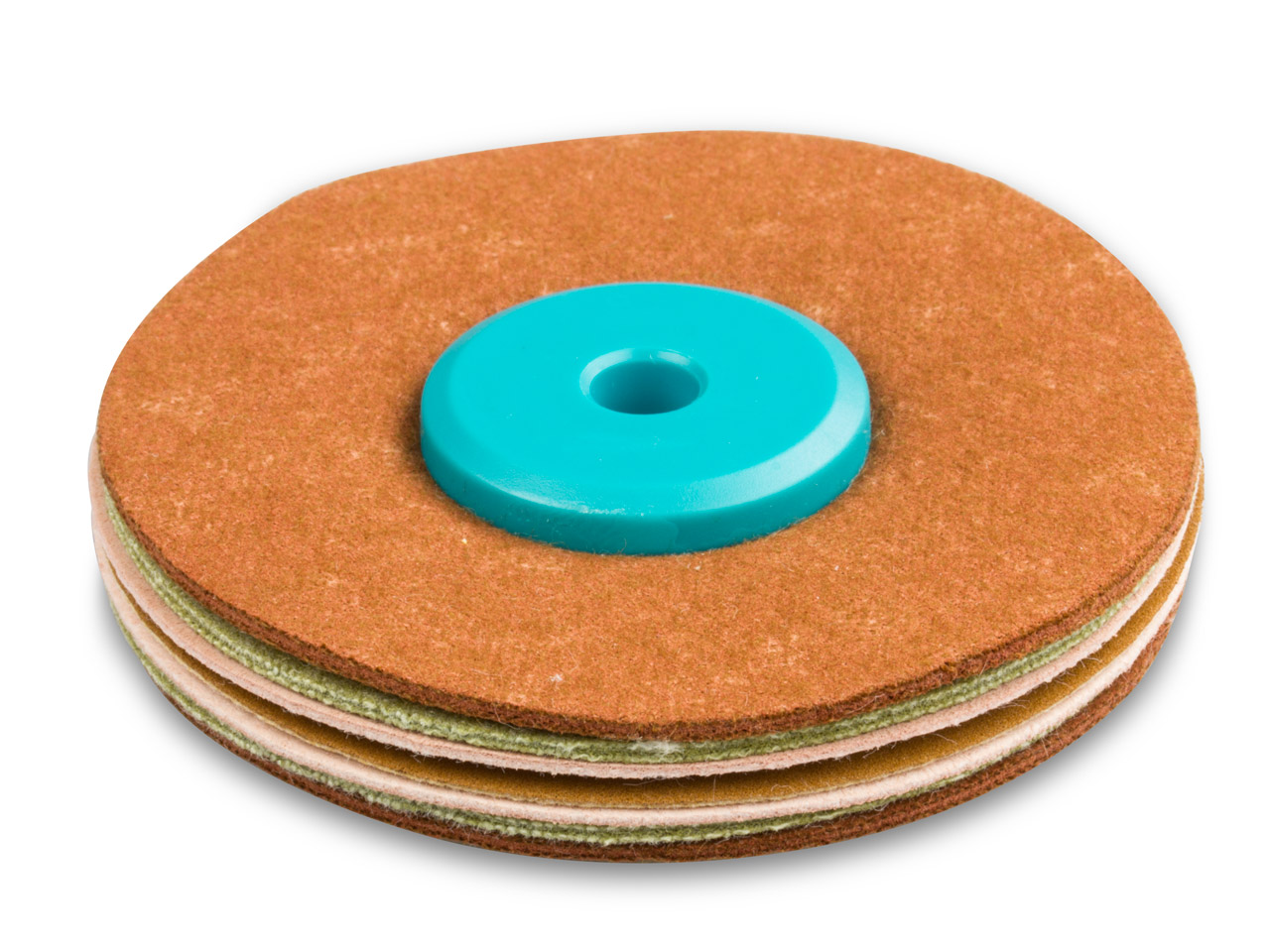 Synthetic Suede Polishing Mop,     Hard, Small 55mm X 8mm