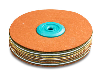 Synthetic Suede Polishing Mop,     Hard, Large 120mm X 18mm