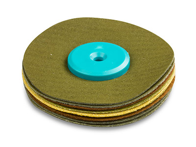 Synthetic Suede Polishing Mop,     Soft, Small 55mm X 8mm