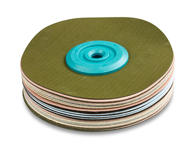 Synthetic Suede Polishing Mop,     Soft, Medium 100mm X 18mm
