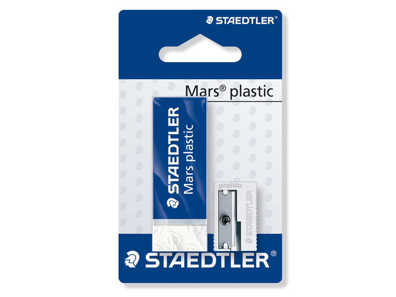 Staedtler Mars Plastic Eraser And  Sharpener Set