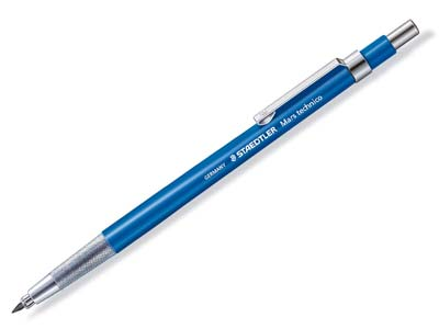 Staedtler Mars Technico Designers  Mechanical Pencil, With 2mm HB Lead