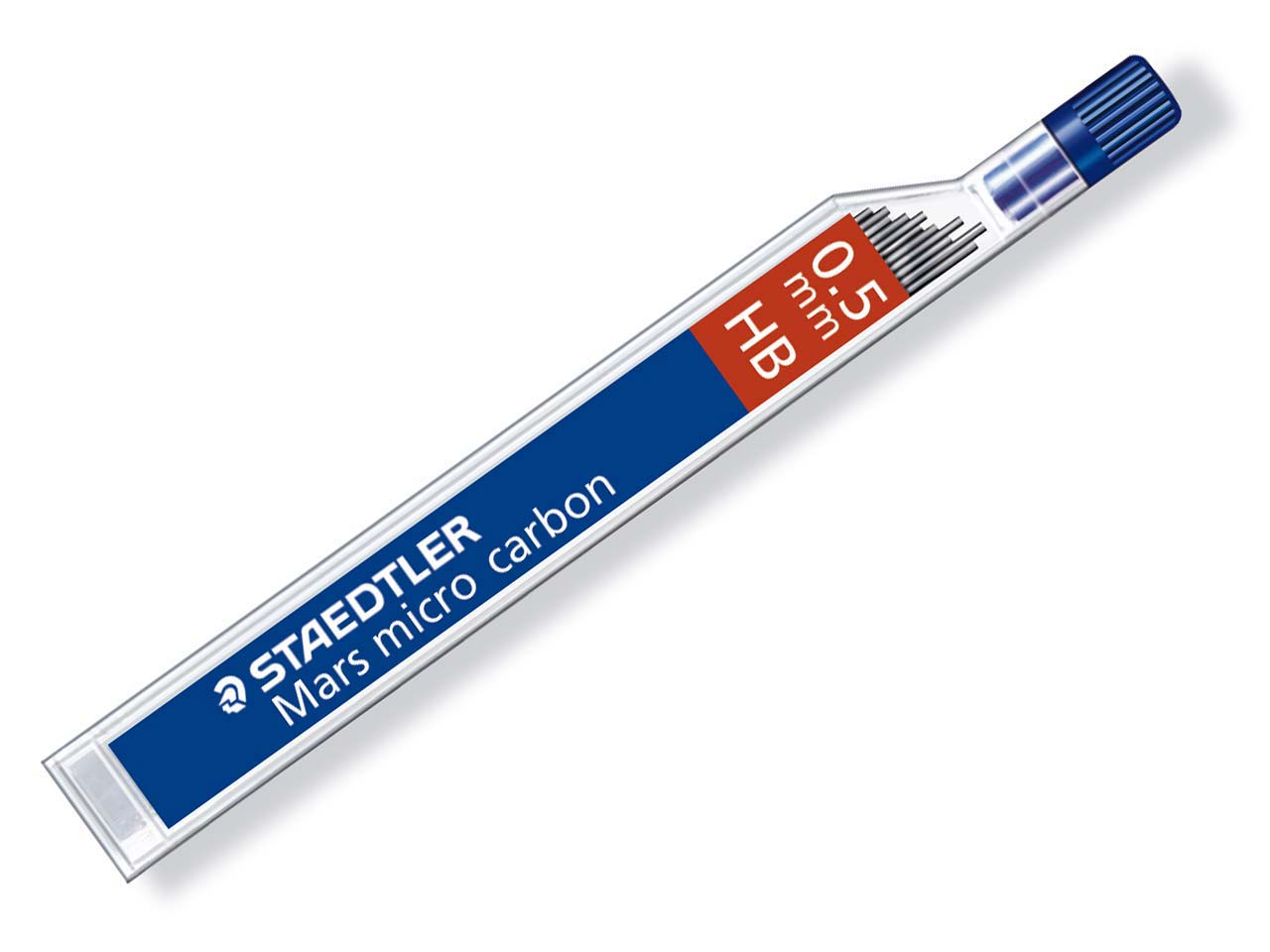 Staedtler Marsmicro Mechanical      Pencil Replacement Leads 0.5mm, Hb, Tube Of 12 Leads