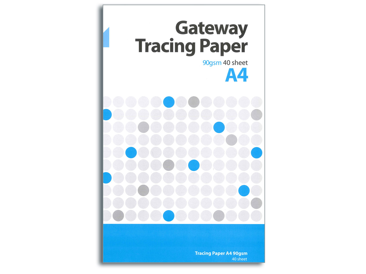 Gateway Natural Tracing Paper, A4  Pad, 40 Sheets, 90gsm
