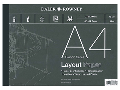 Daler-Rowney-Series-A-Layout-Pad,--A4...
