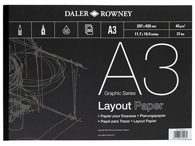 Daler-Rowney-Series-A-Layout-Pad,--A3...