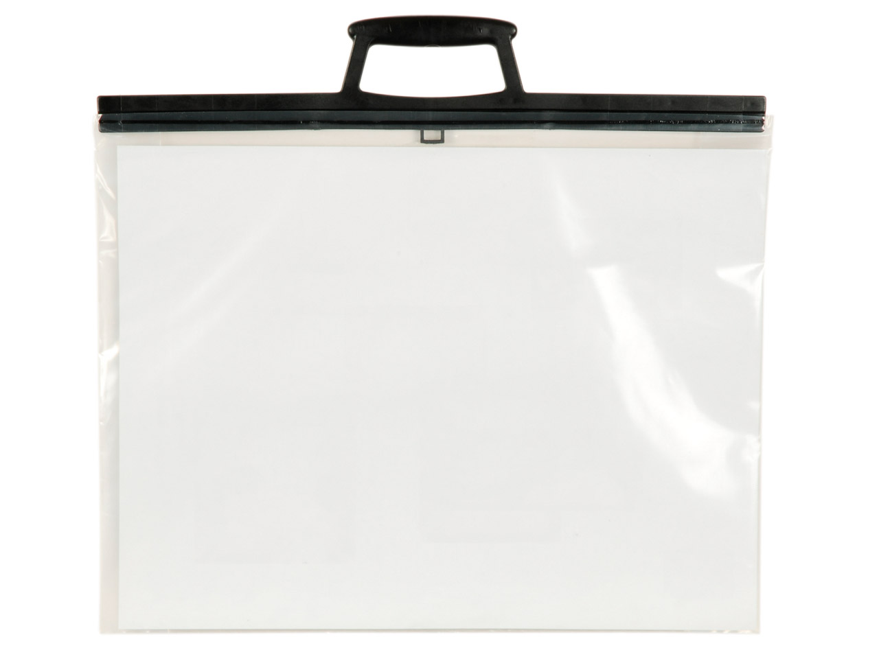 Clear Poly Folio With Clip Handles, A3