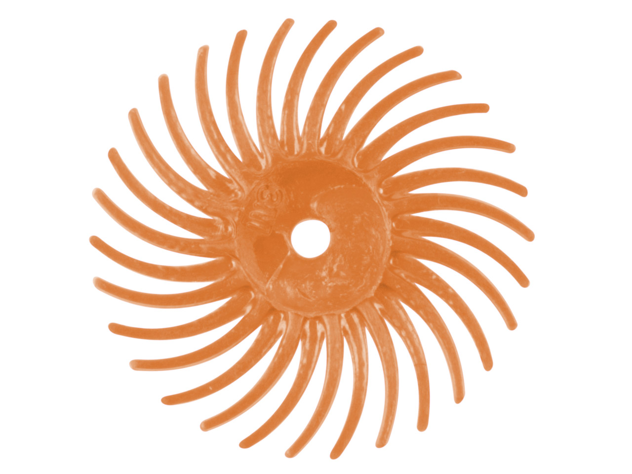 3m Radial Abrasive Disc Peach      Pack of 6 Medium/fine