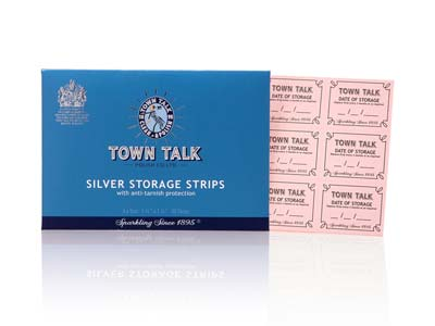 Town Talk Anti-tarnish Silver      Storage Strips