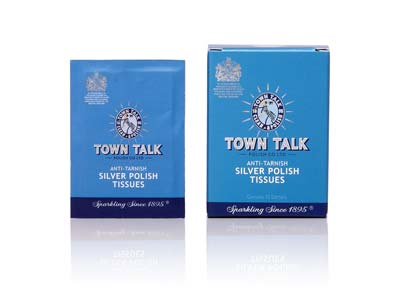 Town Talk Anti Tarnish Silver      Polish Tissues
