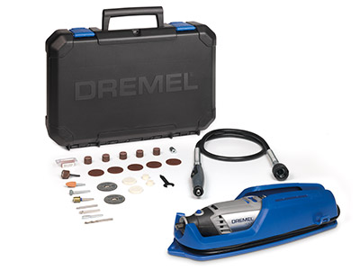 Dremel 3000 Rotary Drill Kit And   Flexshaft With 25 Accessories