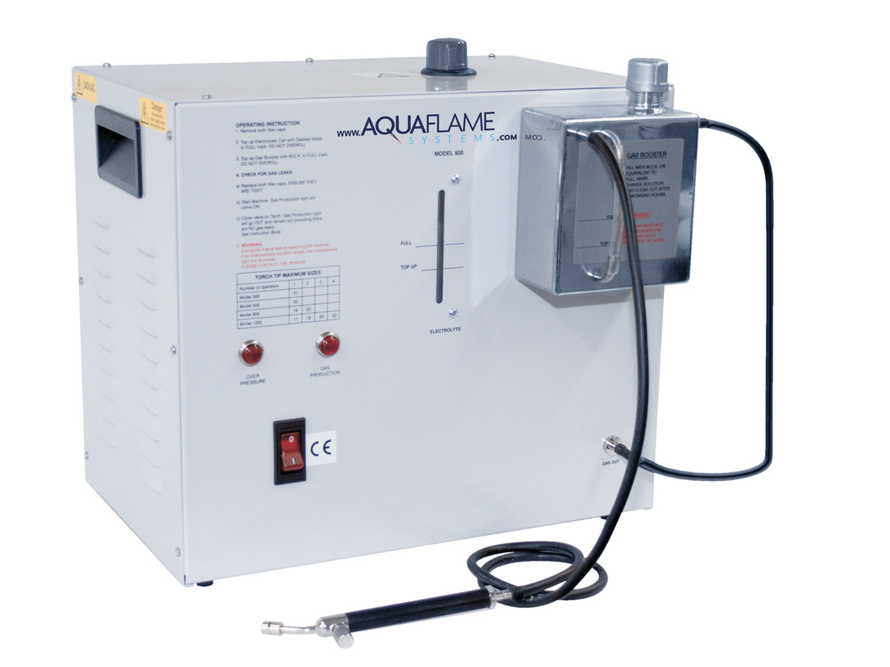 Aquaflame Micro Welder, Model 800  Un1813