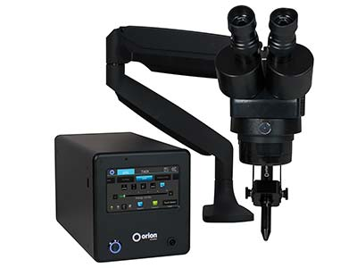 Orion 100c Pulse Welder With       Microscope