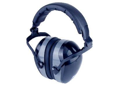 Hearing Protector With Overhead Band