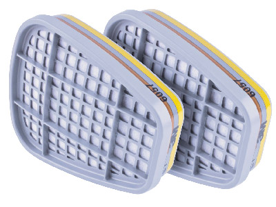 Replacement Filters For Blue Respirator 998  077h  Oval Shape Pack Of 4