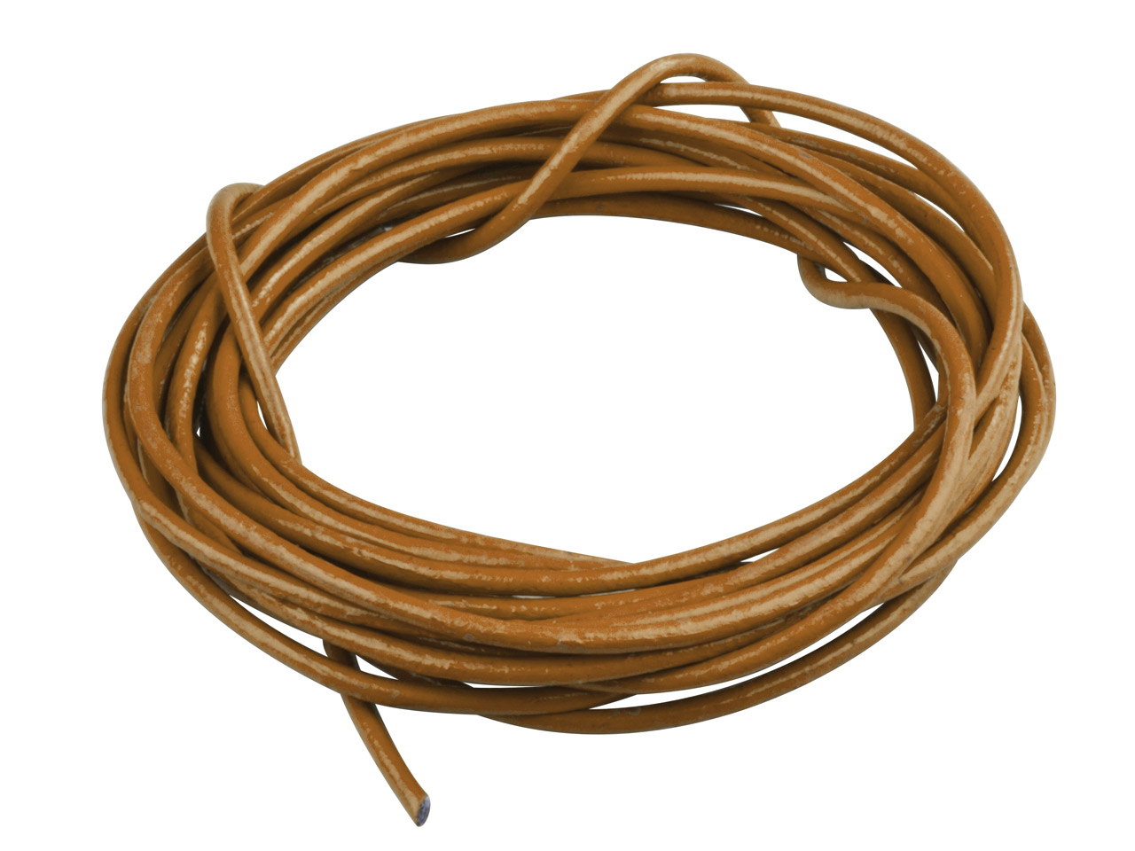 Brown Round Leather Cord 2mm       Diameter, 1 X 5 Metre Length