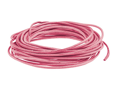 Pink-Round-Leather-Cord,-2mm-------Di...