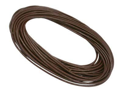 Greek Leather Cord,brown 2mmx5metre