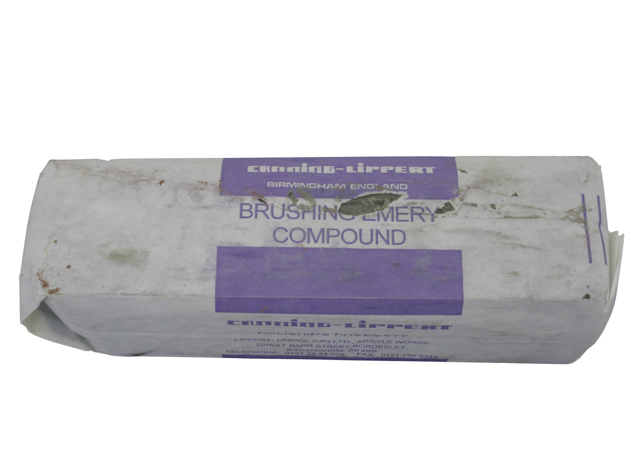 Emery Compound For Initial         Polishing Of Most Metals - 820g