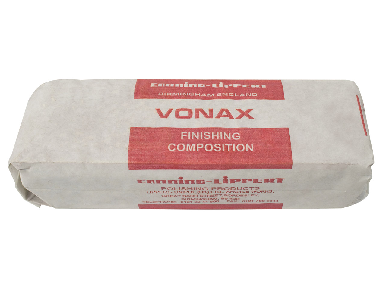 Vonax For Polishing Perspex And    Plastics, 710g
