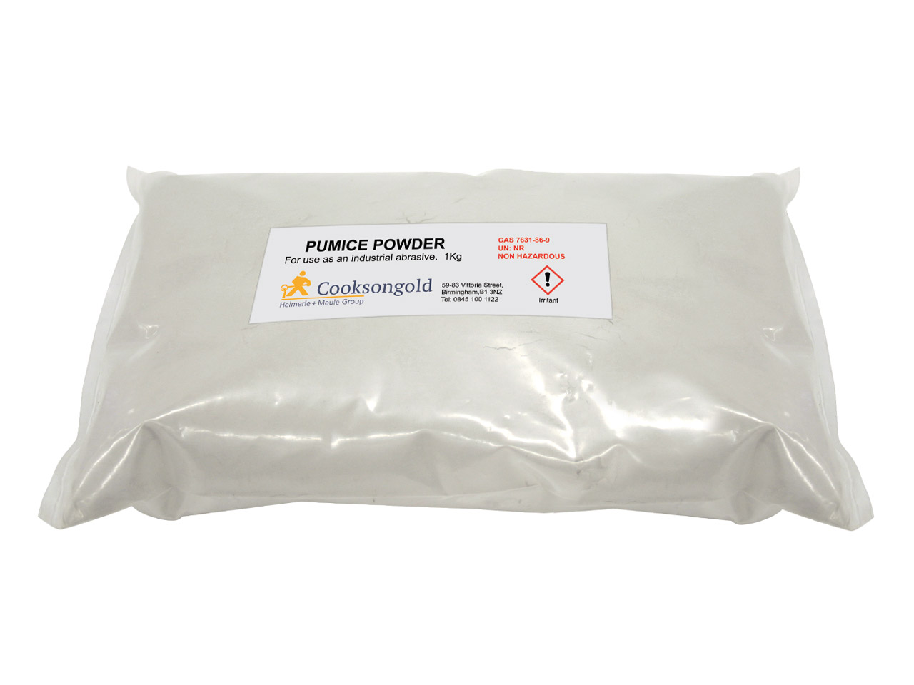 Pumice Powder 1kg Un Unclassified