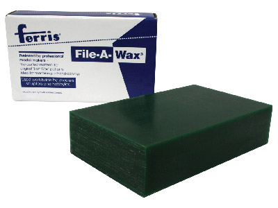 Wax Block Green 3.5x6x1.5