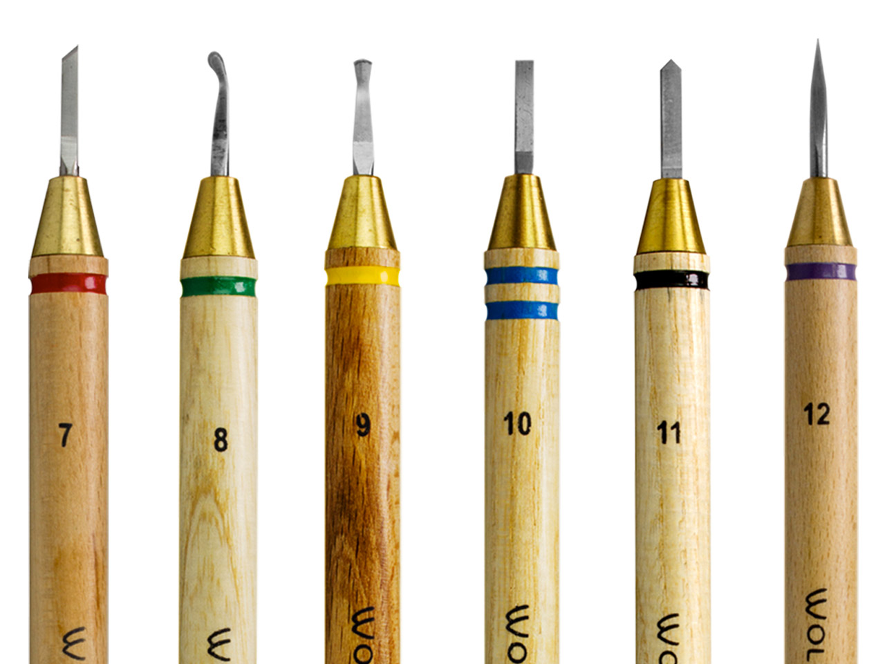 Wolf Precision Wax Carver Set Of 6 Fine Sizes 7-12