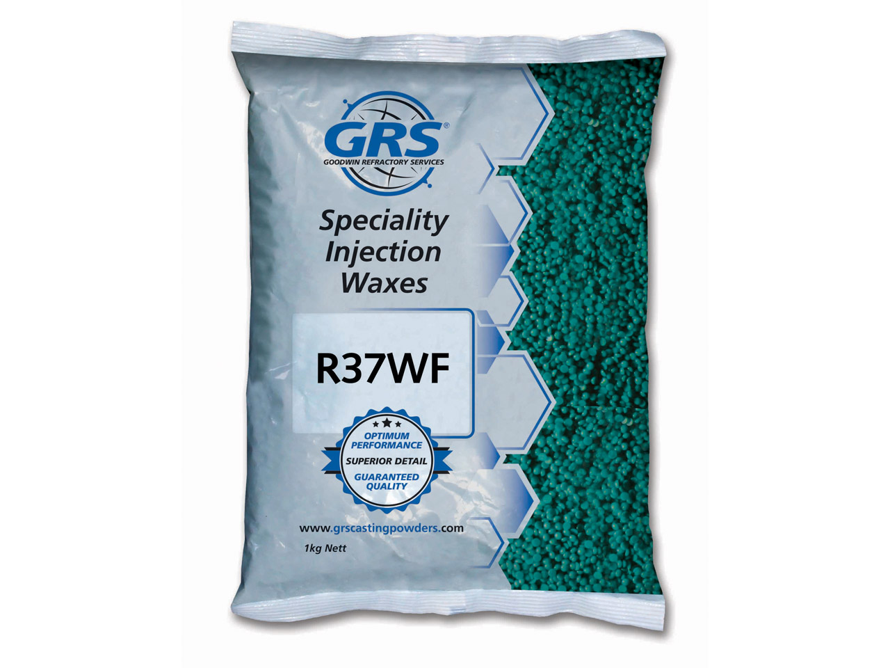 Grs Premium Injection Wax Aqua 1kg