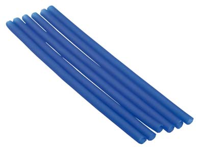 Ferris Cowdery Wax Profile Wire    Round Tube Blue 5mm Pack of 6