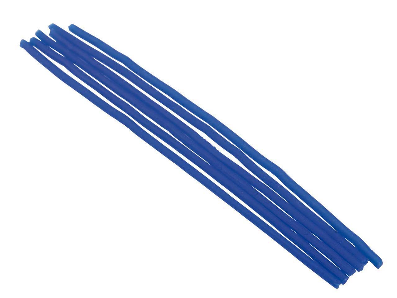 Ferris Cowdery Wax Profile Wire    Round Tube Blue 2.5mm Pack of 6
