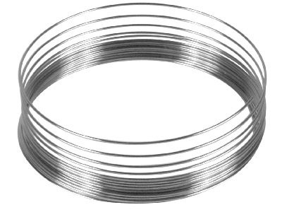 Memory Wire, Bracelet, Supplied In Packs Of 6, 7.1gms Per Pack